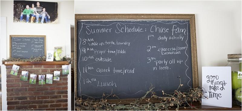 summer schedule kids homeschool family nh 6