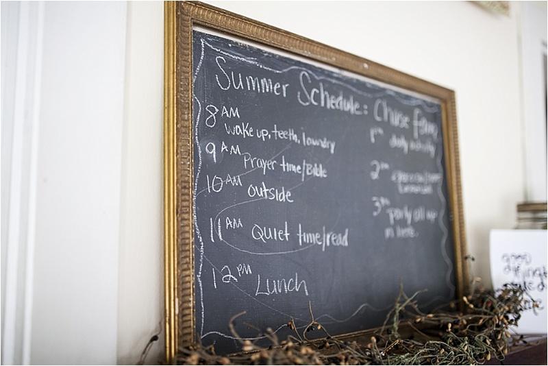 summer schedule kids homeschool family nh 7