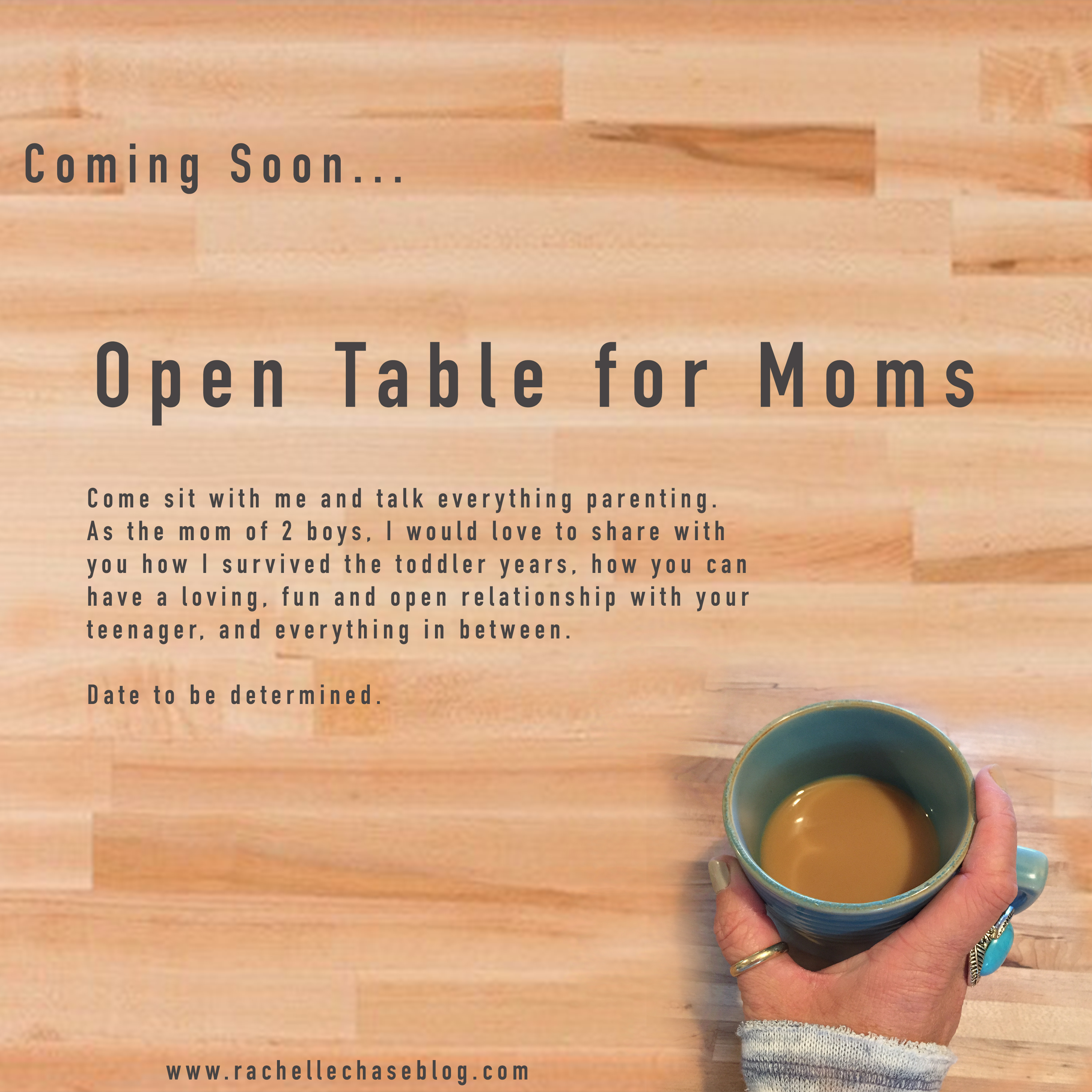 open table for moms